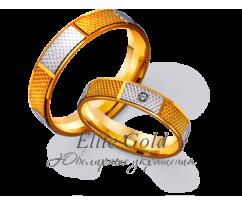 Кольца обручальные парные артикул: 4111362D