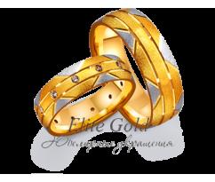 Кольца обручальные парные артикул: 4111515D