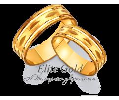 Кольца обручальные парные артикул: 4111567D