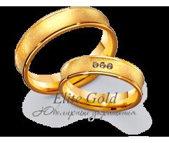 Кольца обручальные парные артикул: 4111667D