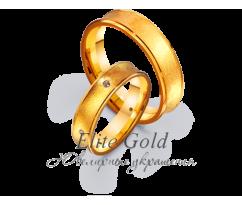 Кольца обручальные парные артикул: 4111670D