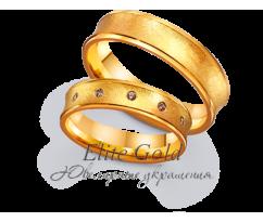 Кольца обручальные парные артикул: 4111671D