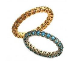 Уникальные парные обручальные кольца арт: AU107