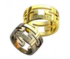 Авторские парные обручальные кольца арт: AU155 Parentesi