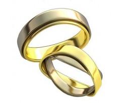 Парные обручальные кольца арт: AU169