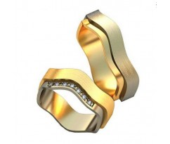 Парные обручальные кольца арт: AU178