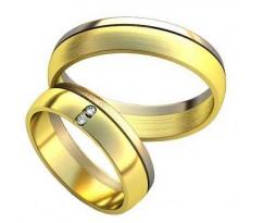 Парные обручальные кольца арт: AU187