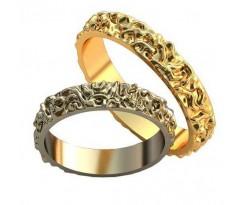 Парные обручальные кольца арт: AU192