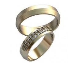 Парные обручальные кольца арт: AU197