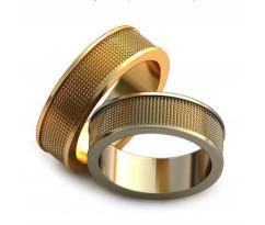 Авторские парные обручальные кольца арт: AU203