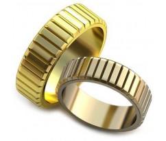 Авторские парные обручальные кольца арт: AU204