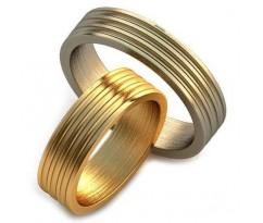 Авторские парные обручальные кольца арт: AU207