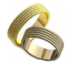 Авторские парные обручальные кольца арт: AU209