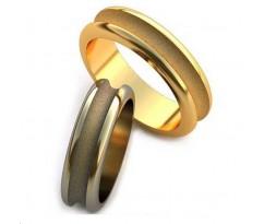Уникальные парные обручальные кольца арт: AU63