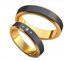 Авторские парные обручальные кольца арт: AU463