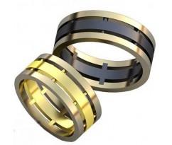 Авторские парные обручальные кольца арт: AU465