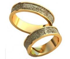 Авторские парные обручальные кольца арт: AU480