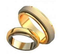 Авторские парные обручальные кольца арт: AU512