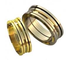 Авторские парные обручальные кольца арт: AU513