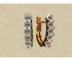 Женские серьги, ручная работа артикул: 0147