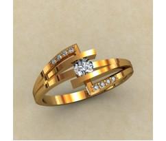 Кольцо для помолвки (выбор камня) артикул: 0338