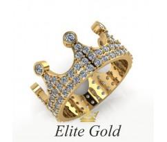 Женское кольцо уникальное артикул: 105560 Корона