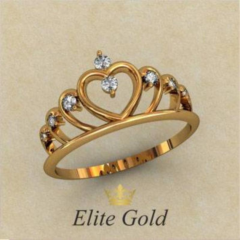 Сколько стоит золотое кольцо корона