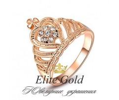 Женское кольцо уникальное Victoria ring - Кольцо Корона