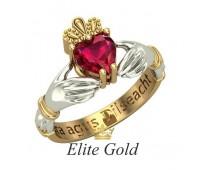 Кладдахское кольцо Red Heart