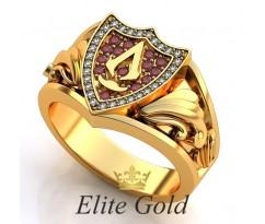 Мужское эксклюзивное кольцо art: EX038 Bloodline