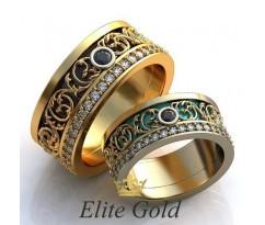 Авторские кольца на свадьбу  art: EX115 Royals