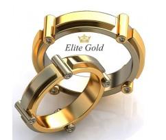 Авторские кольца на свадьбу  art: EX116 Promise