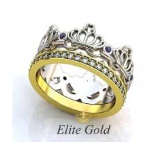 Эксклюзивное кольцо Allegra Ring - Кольцо Корона