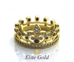 Эксклюзивное кольцо Aria Ring - Кольцо Корона