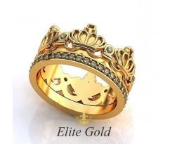 Эксклюзивное кольцо Arista Ring - Кольцо Корона
