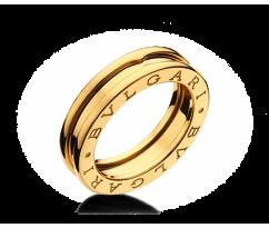 Кольцо в стиле BVLGARI ZERO Ring 75