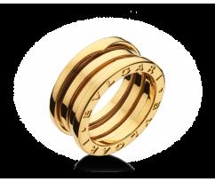Кольцо в стиле BVLGARI ZERO Ring 14