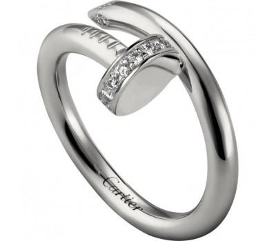 Кольцо в стиле Cartier Juste Un Clou 01 W