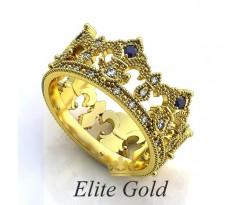 Женское кольцо уникальное Adora ring - Кольцо Корона