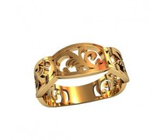 Кольца обручальные артикул: 750080 Женское