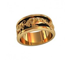Кольца обручальные артикул: 750160 Женское