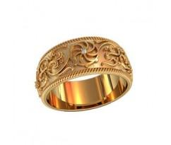 Кольца обручальные артикул: 750180 Женское