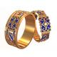 Обручальные кольца Этно