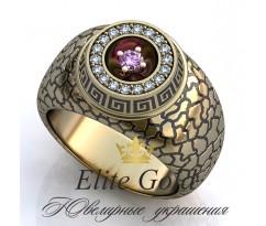 Мужское эксклюзивное кольцо art: EX012