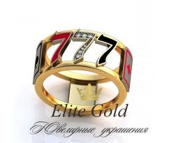 Мужское эксклюзивное кольцо art: EX023 Casino Royal