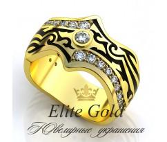 Мужское эксклюзивное кольцо art: EX023