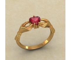 Кладдахское кольцо Heart