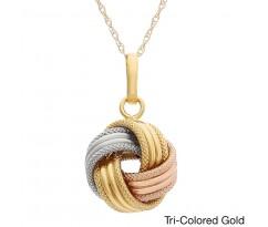 Эксклюзивная подвеска Love Knot necklace