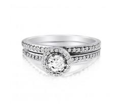 Эксклюзивные кольца Audrey bridal set (Набор колец невесты)