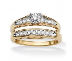 Эксклюзивные кольца Isabella bridal set (Набор колец невесты)